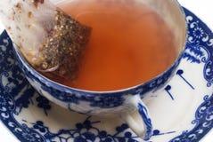 Bolsita de té Fotos de archivo
