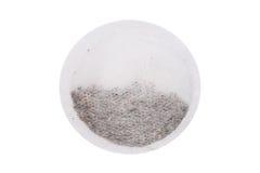 Bolsita de té redonda Fotos de archivo libres de regalías