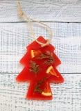 Bolsitas aromáticas del Año Nuevo hechas de la parafina Fotos de archivo libres de regalías