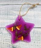 Bolsitas aromáticas del Año Nuevo hechas de la parafina Imágenes de archivo libres de regalías