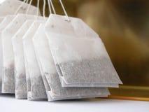Bolsitas de té fotografía de archivo