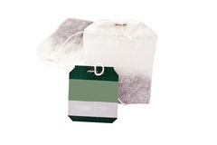 Bolsitas de té Fotos de archivo libres de regalías