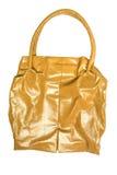 Bolso amarillo imagen de archivo libre de regalías