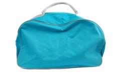 Bolso azul del recorrido Fotos de archivo
