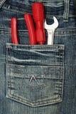 Bolso com ferramentas Imagem de Stock Royalty Free