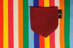 Bolso com multi fundo colorido Foto de Stock