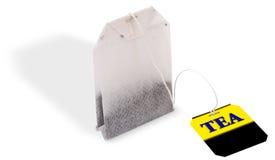 Bolso con té Fotos de archivo libres de regalías