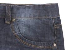 Bolso das calças de brim Fotos de Stock Royalty Free