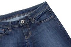 Bolso das calças de brim Fotografia de Stock Royalty Free