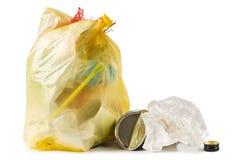 Bolso de basura Fotos de archivo libres de regalías