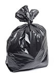 Bolso de basura Imagen de archivo