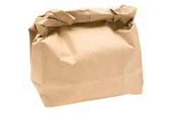 Bolso de Brown Fotos de archivo libres de regalías