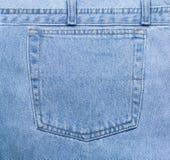 Bolso de calças de ganga Foto de Stock Royalty Free