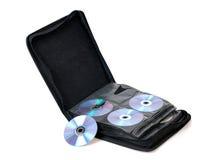 Bolso de CD/DVD Foto de archivo