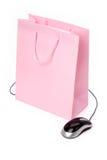 Bolso de compras Imagen de archivo libre de regalías