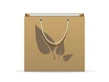 bolso de compras del vector Fotos de archivo libres de regalías