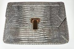 Bolso de cuero femenino del diseñador Fotos de archivo libres de regalías