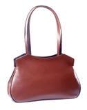 Bolso de cuero marrón clásico Imagen de archivo libre de regalías