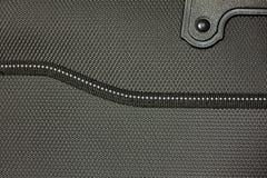 Bolso de cuero negro Fotografía de archivo libre de regalías