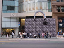 Bolso de Dior Fotos de archivo