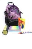 Bolso de escuela Imagen de archivo