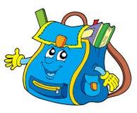 Bolso de escuela Imagen de archivo libre de regalías