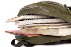 Bolso de escuela Foto de archivo libre de regalías