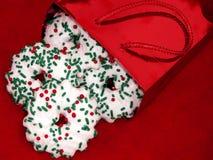 Bolso de galletas Imagen de archivo libre de regalías