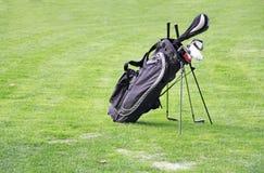 Bolso de golf Imagen de archivo libre de regalías