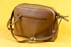 Bolso de hombro de cuero Foto de archivo