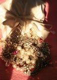 Bolso de joyas foto de archivo