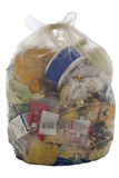 Bolso de la basura imagen de archivo
