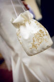 Bolso de la boda Fotos de archivo