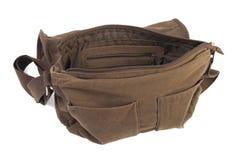 Bolso de la hembra de Brown | Aislado Imagen de archivo