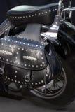 Bolso de la motocicleta fotografía de archivo libre de regalías