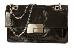 Bolso de la mujer aislado en blanco foto de archivo libre de regalías