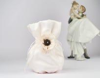 Bolso de la novia fotografía de archivo libre de regalías