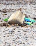 Bolso de la playa. Imagen de archivo