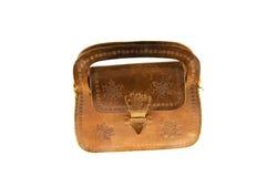 Bolso de las señoras mayores hecho de una piel Foto de archivo