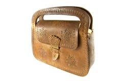 Bolso de las señoras mayores hecho de una piel Fotografía de archivo libre de regalías
