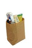 Bolso de las tiendas de comestibles 2 Foto de archivo libre de regalías