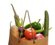 Bolso de las verduras fotos de archivo libres de regalías