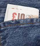 Bolso de libras BRITÂNICAS Fotos de Stock