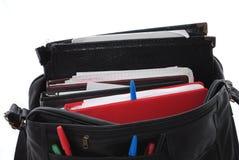 Bolso de libro lleno Imagen de archivo libre de regalías