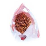 Bolso de los pretzeles imágenes de archivo libres de regalías