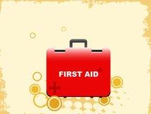 Bolso de los primeros auxilios Fotografía de archivo libre de regalías