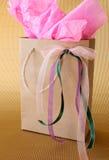 Bolso de los regalos Fotos de archivo libres de regalías