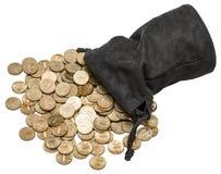 Bolso de monedas Fotos de archivo libres de regalías