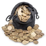 Bolso de monedas Imágenes de archivo libres de regalías