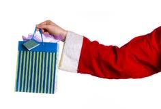 Bolso de Navidad Foto de archivo libre de regalías
